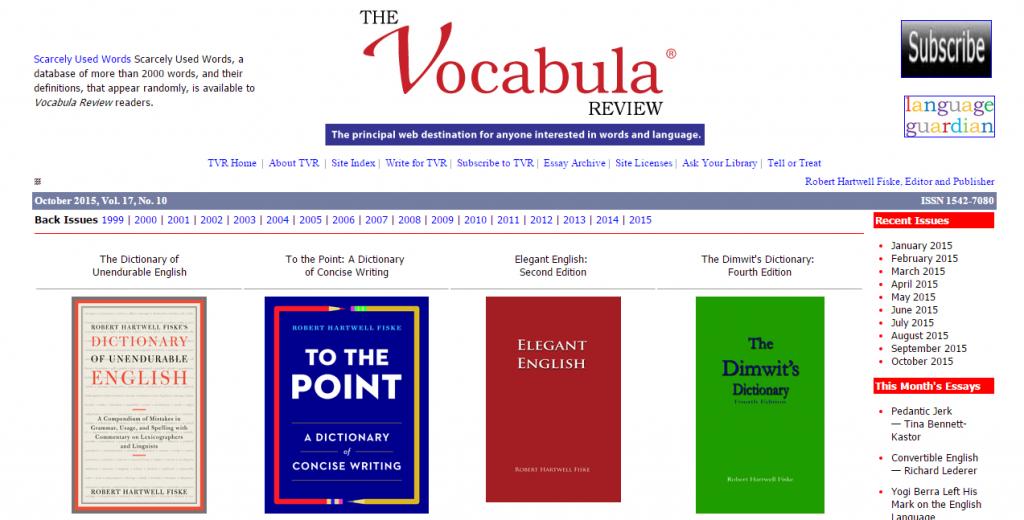 Site Vocabula