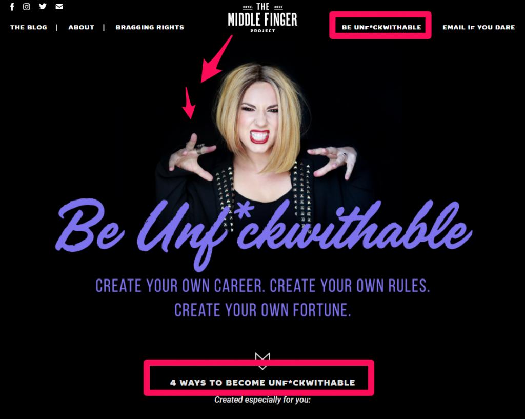 branding - exemplo de personalidade