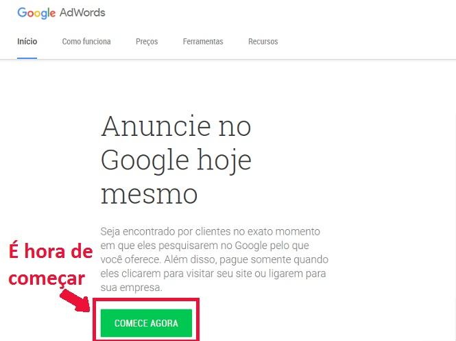 6e0267e04 Como configurar campanha no Google AdWords pela primeira vez