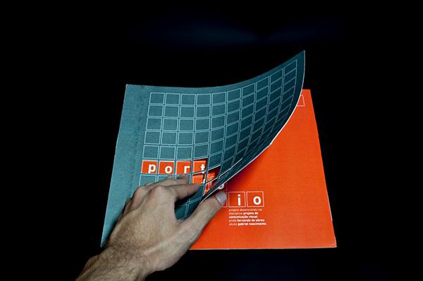 portfólio impresso